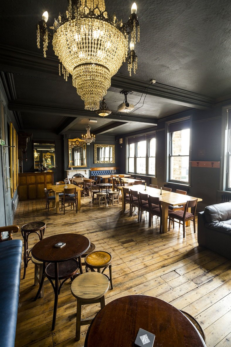 Interior view of the Cardigan Arms